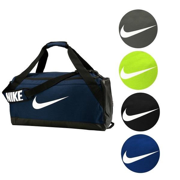 Shop Nike Brasilia Medium Duffel Bag - Free Shipping On Orders Over  45 -  Overstock - 23622531 45c7fdffb772d