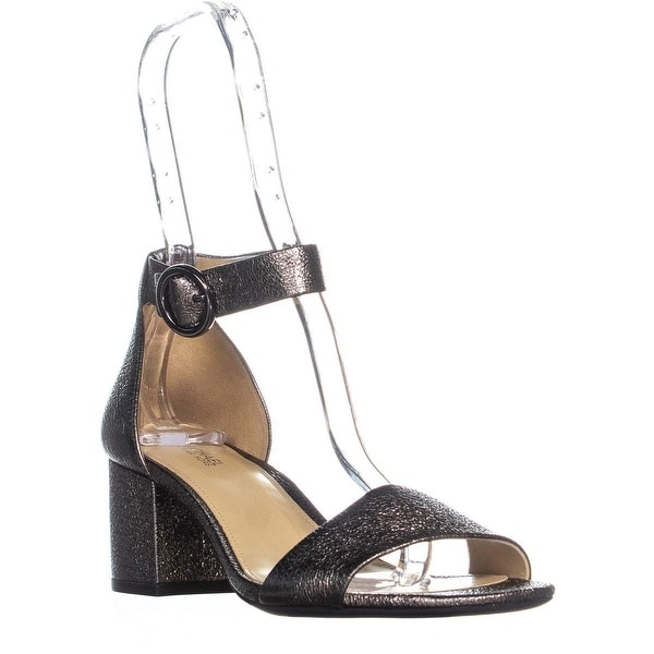 230568cffe48 Shop MICHAEL Michael Kors Lena Flex Mid Ankle Strap Block Heel ...