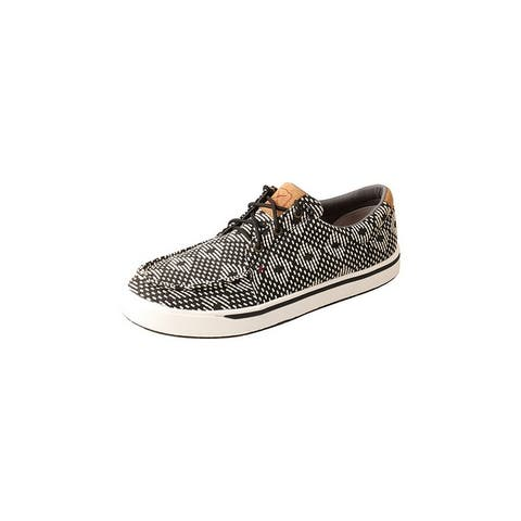 Twisted X Casual Shoes Mens Rice Husk Outsole Elastic Black