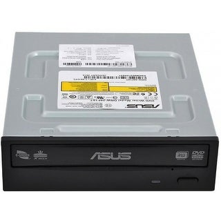 Asus Storage Drw-24F1st Dvdrw Sata 24X Black Bulk Pack With Plastic Bag Only