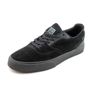 Globe Sabbath Mens Size 7 Black Suede Skate Shoes - Black/ Black - 7 d(m) us