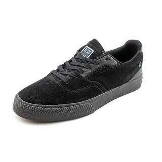 Globe Sabbath Mens Size 7 Black Suede Skate Shoes - Black/ Black - 7 d(m) us