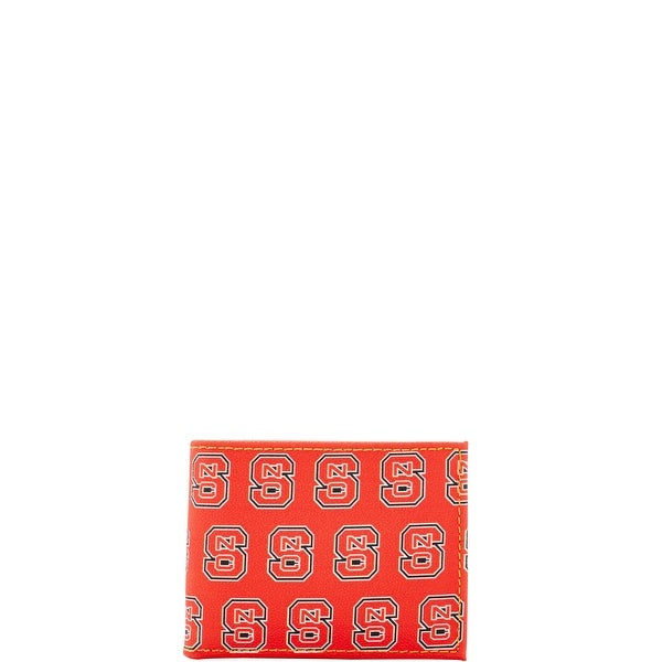 Dooney & Bourke NCAA NC State Credit Card Billfold (Introduced by Dooney & Bourke at $68 in Aug 2015) - Red