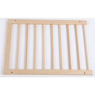 """Cardinal Gates Extension For Step Over Free Standing Gate Natural Wood 22"""" x 2"""" x 20"""""""