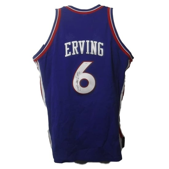 955a287a87c Shop Julius Erving Autographed Philadelphia 76ers Mitchell Ness Size 54 Jersey  JSA - Free Shipping Today - Overstock - 20641228