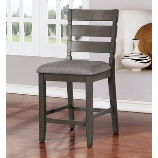 Link to The Gray Barn Park House Transitional Grey Counter Chairs (Set of 2) Similar Items in Dining Room & Bar Furniture