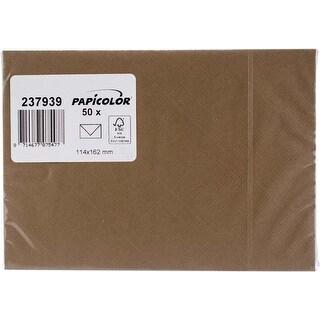 Nut Brown - Papicolor A6 Envelopes 50/Pkg