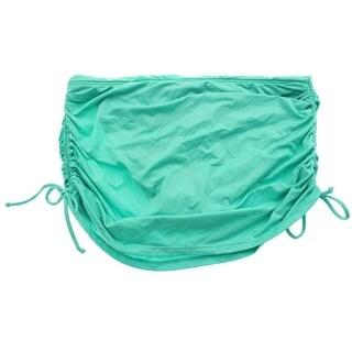 Badgley Mischka Womens Shirred Tunnel Sides Swim Bottom Separates - 4