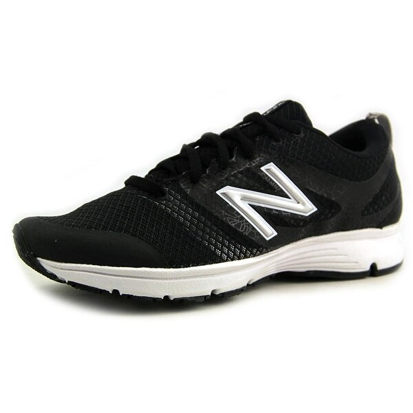 New Balance WX668 Women D Round Toe Synthetic Black Sneakers