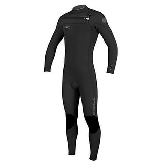 Oneill Mens 3MM Hyperfreak Frontzip Full Wetsuit, Black/Graphite, Xlarge