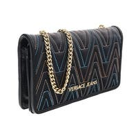 Versace EE3VRBPY4 Black/Multicolor Wallet on Chain - 7.5-4.5-1