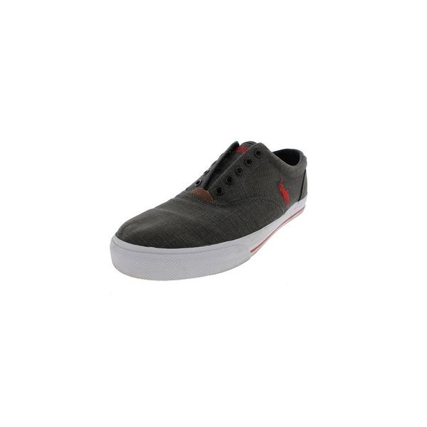 5242744a36b2a Polo Ralph Lauren Mens Vaughn Fashion Sneakers Signature Vulcanized