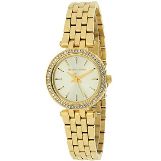 Link to Michael Kors Mini Darci Gold Tone Dial Watch - MK3295 - One Size Similar Items in Women's Watches