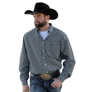 Cinch Western Shirt Mens Long Sleeve Button Multi Color