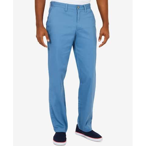 Nautica Mens 36X34 Classic Fit Khakis Chinos Stretch Pants
