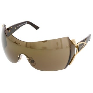 Swarovski SK0052/S 30G Brown Mask/Shield Sunglasses