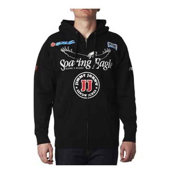 520de347e7 Shop Fox Racing 2016 Men s RCH Team Zip Up Jacket - 19127 - Black ...