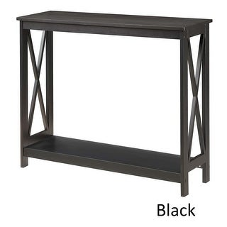 Link to Copper Grove Cranesbill X-base Console Table Similar Items in Living Room Furniture