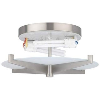 Forecast Lighting FB184536U A La Carte 2 Light Flush Mount Ceiling Fixture from the Fisher Island Collection - Base Only
