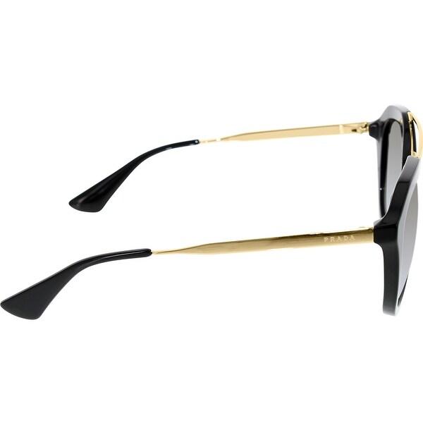 e3627da9fe Prada Women s Gradient PR12QS-1AB0A7-54 Black Butterfly Sunglasses - Free  Shipping Today - Overstock.com - 24959095