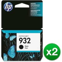 HP 932 Black Original Ink Cartridge (CN057AN)(2-Pack)