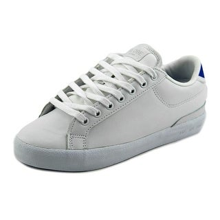 Globe Status Men Round Toe Leather White Skate Shoe