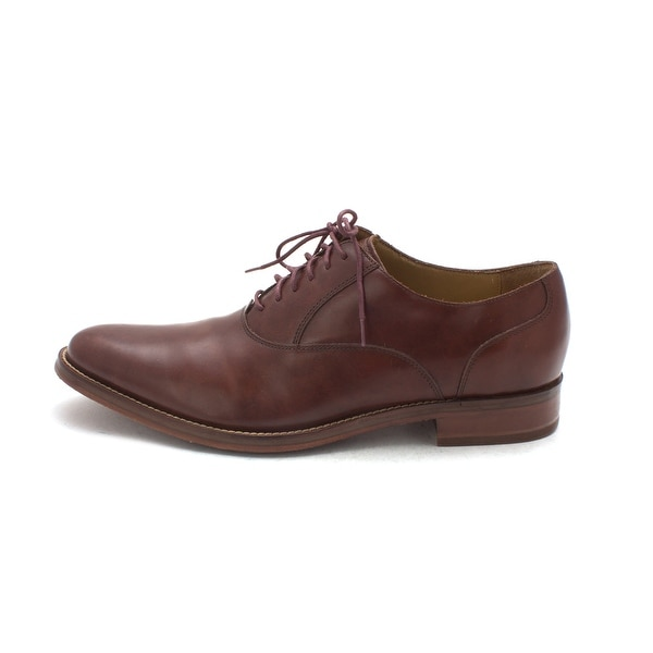 Cole Haan Mens Jaheemsam Leather Lace Up Dress Oxfords