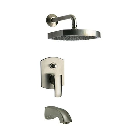 Fortis 8979700 Scala Tub and Shower Trim Package with Rain Shower Head and Tub Spout -