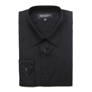 Marquis Men's Long Sleeve Regular Fit Big & Tall Size Dress Shirt (More options available)