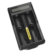 NITECORE UM20 2-Slot Li-Ion/IMR Battery Charger - Black