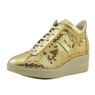 Ruco Line Jarito Women Synthetic Gold Fashion Sneakers