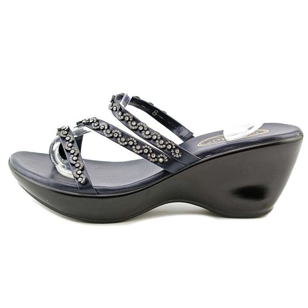 Callisto Womens Shana Open Toe Casual Platform Sandals