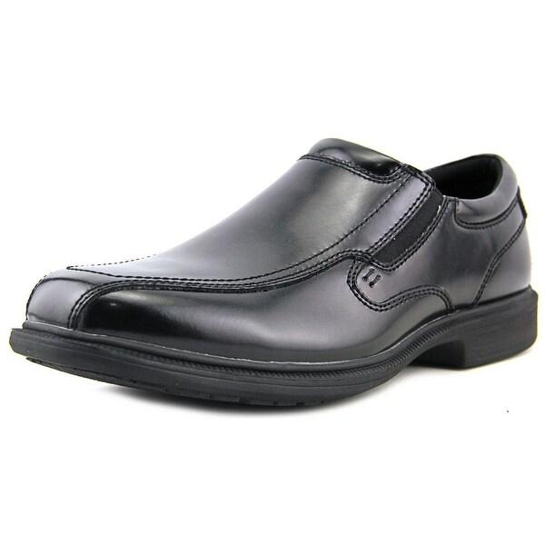 Nunn Bush Bleeker St Men Bicycle Toe Leather Black Loafer
