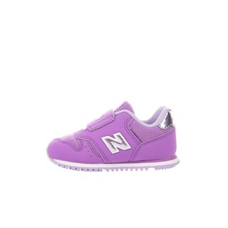 New Balance Baby Girl KV373F3I Lace Up Sneakers - 3 m kids