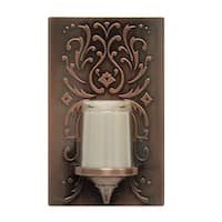 GE 11258 LED Candle Night Light Bulb, Bronze