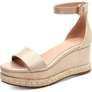 Link to BCBGeneration Womens Addie Wedge Sandals Espadrille Ankle Strap Similar Items in Women's Shoes