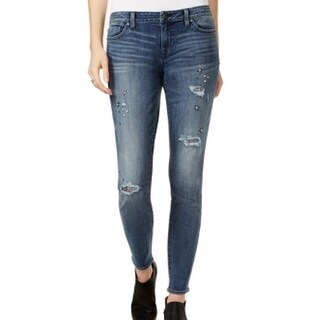 laguna beach jeans women 39 s embellished pocket skinny jeans. Black Bedroom Furniture Sets. Home Design Ideas