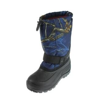 Kamik Boys Rocket 2 Youth Printed Snow Boots - 6 medium (d)