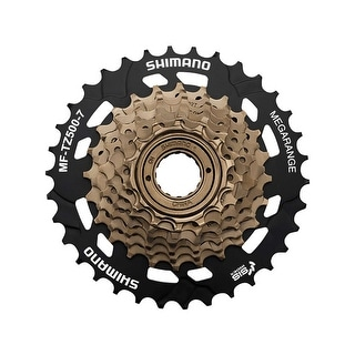 Shimano 7-Speed Tourney Bicycle Freewheel Replacement Cluster - MF-TZ500-7 - 14-28 - EMFTZ5007428