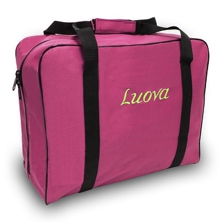 "Luova 14"" Sewing Tote For 3/4 Size Machines In Pink"