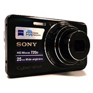 Sony Cyber-shot DSC-W650/B Digital Camera - 16.1 Megapixels - 5x (Refurbished)