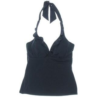Pour Moi Womens Splash Underwire Tankini Swim Top Separates