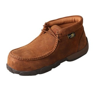 Twisted X Casual Shoes Womens Lace Driving Mocs Light Brown WDMCTM1