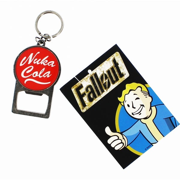 Fallout Nuka Cola Metal Keychain Bottle Opener - Multi