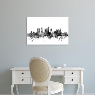Easy Art Prints Michael Tompsett's 'Atlanta Georgia Skyline' Premium Canvas Art