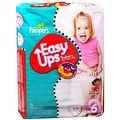 Pampers Easy Ups Training Pants Girls Size 6 19 Each [4 packs per case] - Thumbnail 0