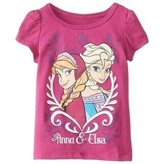 Disney Frozen Toddler Girls Anna & Elsa Casual Top - 3T