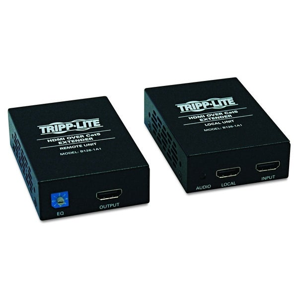 Tripp Lite B126-1A1 Hdmi Over Cat5 Cat6 Extender Tx Receiver Video & Audio