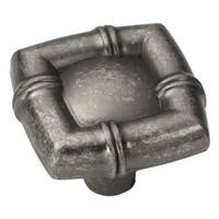 Hickory Hardware P3443 Bamboo 1-1/4 Inch Square Cabinet Knob
