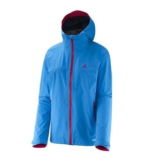 Salomon Mauka GTX Jacket Women - Rain, Hard Shell, Waterproof, Gore-tex Paclite - methyl blue